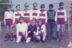 Fußball mit der C-Jugend SV Großefehn (1965). (A.W.: o.r.)