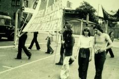 Chile-Demo Frankfurt (1975).
