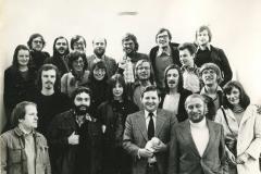 OSI-Student: Studienreise mit dem Dozenten und RIAS-Journalisten Manfred Rexin (1975).